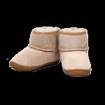 Lammfell Schuhe und Sohlen