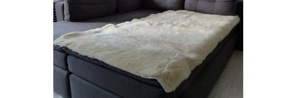 Lammfellauflagen für Bett, Sessel, Couch