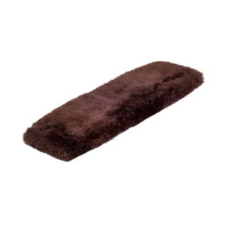 "BARTL Lammfell Western Gurtschoner ""LARRY"" Länge ca. 60 cm braun"