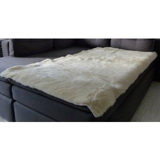 Lammfellauflage Bett, Sessel, Couch 160 cm x 80 cm