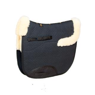 Bestückung Ihrer Sattelunterlage, Lammfell 3: Fellkränze vorne u. hinten, Fell Sattellage