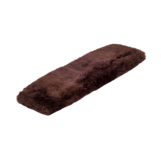 "BARTL Lammfell Gurtschoner ""GENTLY"", 75 cm braun"